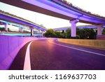 the purple blue led landscape... | Shutterstock . vector #1169637703