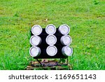 close up of led spotlights in... | Shutterstock . vector #1169651143