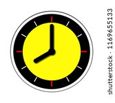 wall clock icon time at eight o'... | Shutterstock . vector #1169655133