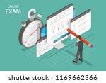 isometric flat vector concept... | Shutterstock .eps vector #1169662366