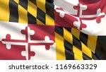 state of maryland flag. flags... | Shutterstock . vector #1169663329