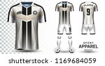 soccer jersey and football kit... | Shutterstock .eps vector #1169684059