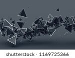 abstract 3d rendering of... | Shutterstock . vector #1169725366