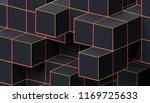 abstract 3d rendering of a... | Shutterstock . vector #1169725633
