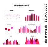infographic elements  annual... | Shutterstock .eps vector #1169732386