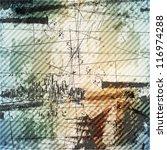 grunge style urban background | Shutterstock .eps vector #116974288