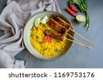 delicious and healthy homemade... | Shutterstock . vector #1169753176