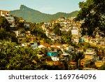 favela in rio de janeiro  brazil   Shutterstock . vector #1169764096