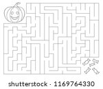 coloring page for children.... | Shutterstock .eps vector #1169764330