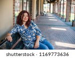 portrait of attractive plus... | Shutterstock . vector #1169773636