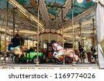 paris  france   november 04 ...   Shutterstock . vector #1169774026