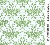 seamless floral ornate ornament   Shutterstock .eps vector #1169811229