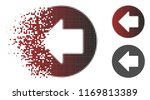 previous arrow icon in... | Shutterstock .eps vector #1169813389