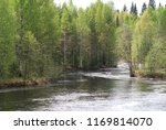spring  river  on the banks of... | Shutterstock . vector #1169814070