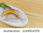 shime saba sushi  | Shutterstock . vector #1169814193