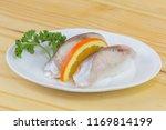 shime saba sushi  | Shutterstock . vector #1169814199