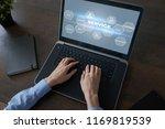 customer service and... | Shutterstock . vector #1169819539