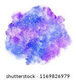 rounded winter watercolor... | Shutterstock . vector #1169826979
