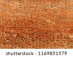 Red Brick Wall. Texture Of Red...
