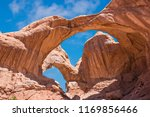 double arch in arches national... | Shutterstock . vector #1169856466