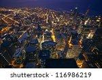 View Of Chicago  Illinois  Usa...