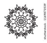 beautiful vector circular...   Shutterstock .eps vector #1169873539