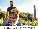 young man gives his woman and... | Shutterstock . vector #1169876839