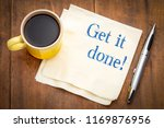 get it done advice or reminder  ... | Shutterstock . vector #1169876956