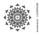 beautiful vector circular...   Shutterstock .eps vector #1169890180