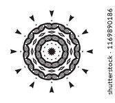 beautiful vector circular...   Shutterstock .eps vector #1169890186