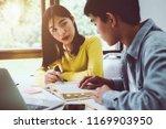 high school or college using... | Shutterstock . vector #1169903950