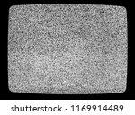 no signal tv texture.... | Shutterstock . vector #1169914489