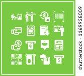 reader icon. 16 reader vector... | Shutterstock .eps vector #1169938009