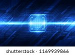 abstract technology chip... | Shutterstock .eps vector #1169939866