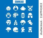 racing icon. 16 racing vector... | Shutterstock .eps vector #1169941813