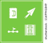 finish icon. 4 finish vector...   Shutterstock .eps vector #1169941849