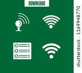 wi fi icon. 4 wi fi vector set. ...   Shutterstock .eps vector #1169948770