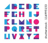 alphabet | Shutterstock .eps vector #116995153