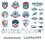 set of vector football  soccer  ... | Shutterstock .eps vector #1169962999