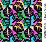 seamless repeating textile  ink ... | Shutterstock .eps vector #1169972056