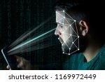 biometrics identification and... | Shutterstock . vector #1169972449