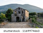 old abandoned stone built house ... | Shutterstock . vector #1169974663