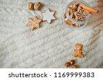 light christmas card decor... | Shutterstock . vector #1169999383