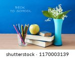 still life with flowers bunch... | Shutterstock . vector #1170003139