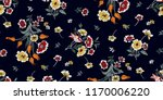 seamless floral pattern in... | Shutterstock .eps vector #1170006220