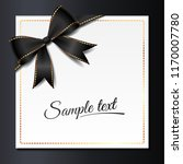 template of elegant invitation... | Shutterstock .eps vector #1170007780