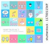 heart tales volume 3  vector... | Shutterstock .eps vector #1170011569