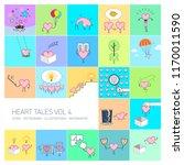 heart tales volume 4  vector... | Shutterstock .eps vector #1170011590