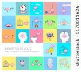 heart tales volume 2  vector... | Shutterstock .eps vector #1170011626