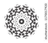 beautiful vector circular... | Shutterstock .eps vector #1170017920
